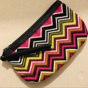 Missoni for Target Wristlet in Chevron Knit (SAM)